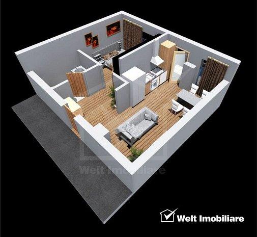 Apartament cu 2 camere, bloc nou, zona Tetarom 1 - imaginea 1