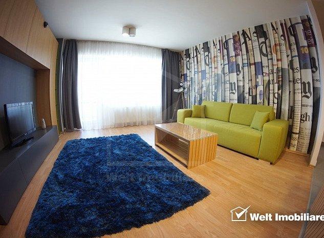 Inchiriere apartament 2 camere de lux, loc de parcare, Calea Dorobantilor - imaginea 1