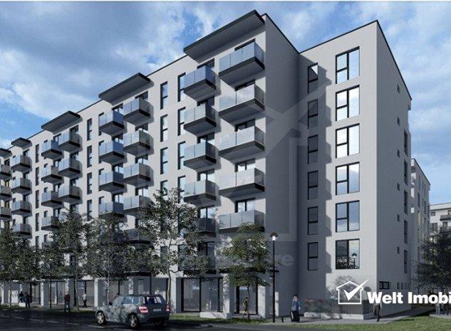 Vanzare apartament 3 camere, in Dambul Rotund, proiect nou, Zona Tetarom - imaginea 1