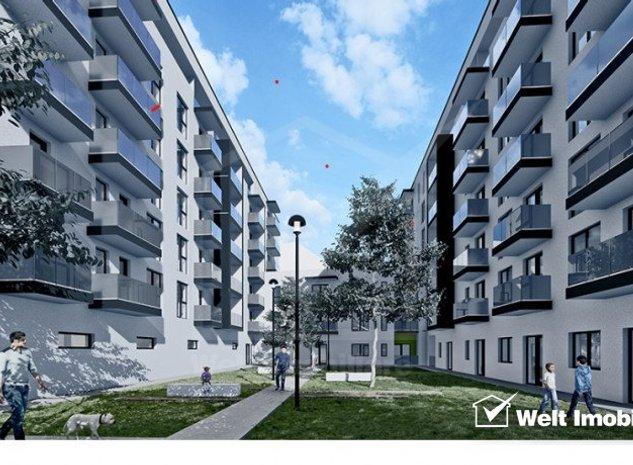 Vanzare apartament 2 camere, in Dambul Rotund, proiect nou, Zona Tetarom - imaginea 1