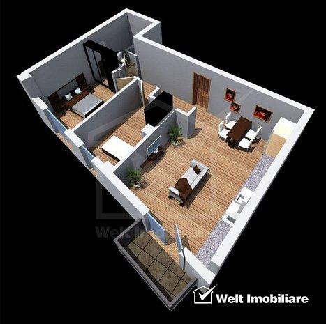 Vanzare apartament 3 camere, Dambu Rotund, proiect nou, Zona Tetarom - imaginea 1