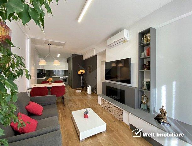 Inchiriere Apartament 3 camere, conditii de LUX, zona centrala, imobil deosebit - imaginea 1