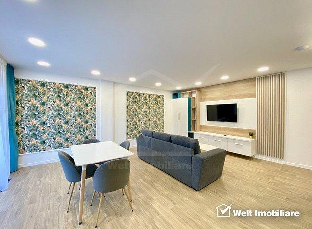 Apartament 2 camere, LUX, garaj subteran, imobil deosebit, zona Plopilor - imaginea 1