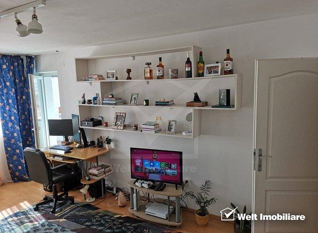 Apartament o camera, decomandat, 38mp, strada Calea Turzii - imaginea 1