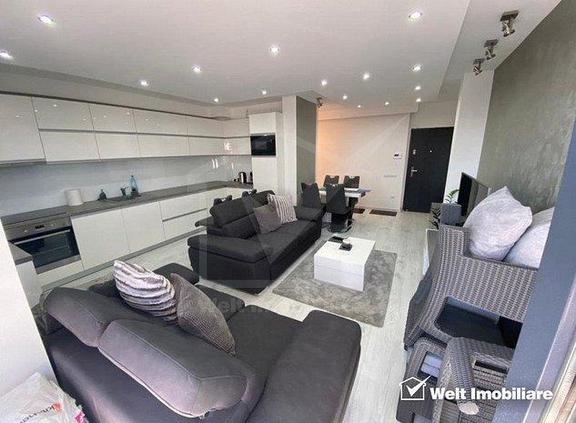 Apartament 2 camere ultrafinisat, Grand Park, terasa generoasa - imaginea 1
