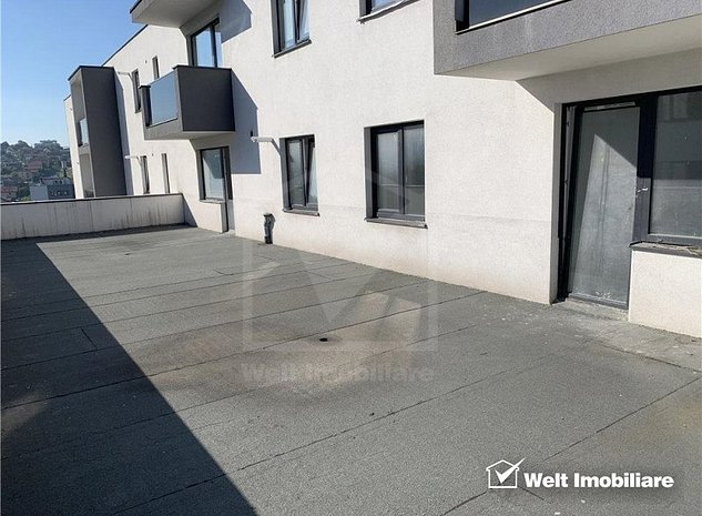 Apartament 4 camere 90mp, terasa, etaj 4/5, parcare subterana, CF, Dambul Rotund - imaginea 1