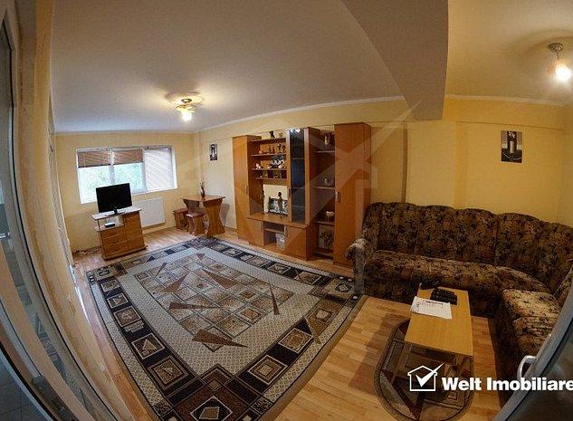 Inchiriere apartament 2 camere, decomandat, 58 mp, parcare, Calea Turzii - imaginea 1