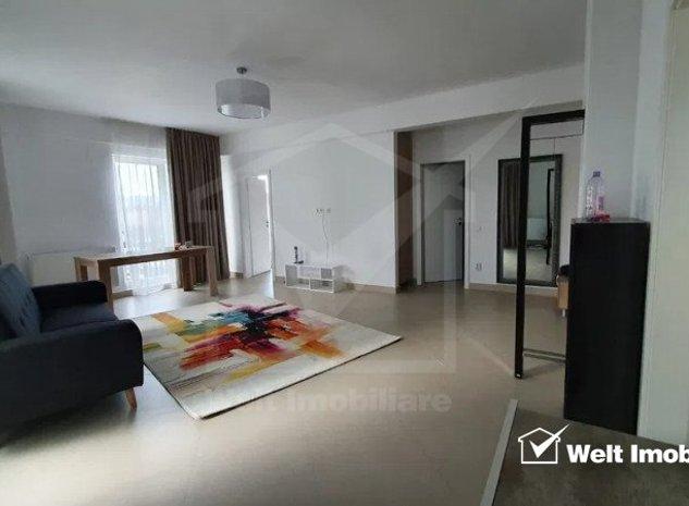 Apartament cu 2 camere, bloc nou, 57mp, terasa, mobilat, garaj, Centru - imaginea 1
