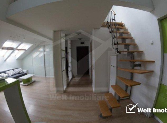 Apartament 2 camere cartier Buna Ziua situat la mansarda - imaginea 1