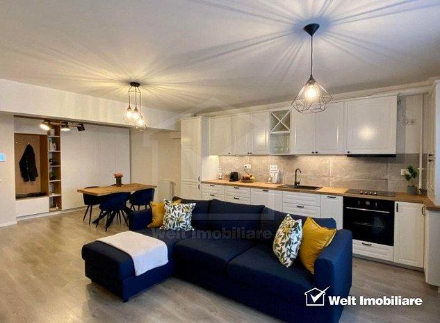 Apartament 2 camere 62mp + 15 mp terasa, parcare sub, Intre Lacuri - imaginea 1