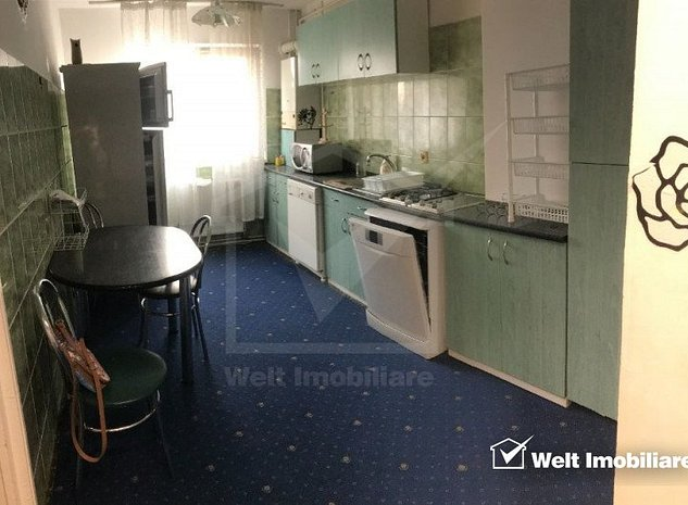 Apartament cu 3 camere decomandate, langa BIG Manastur - imaginea 1