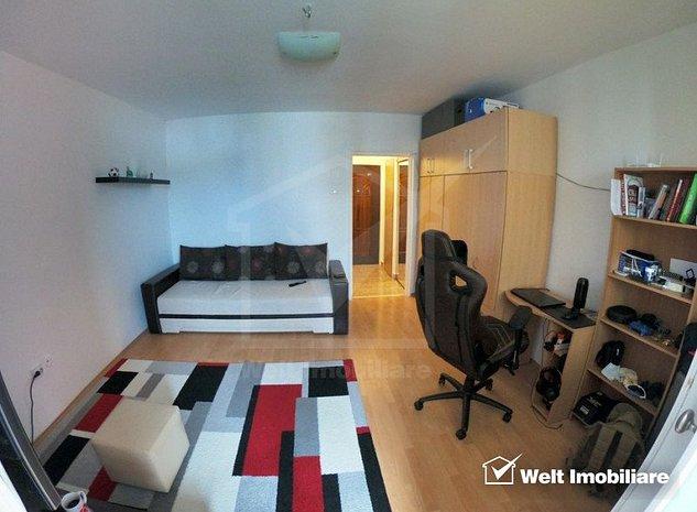 Vanzare garsoniera, confort 1, etaj intermediar, Manastur - imaginea 1