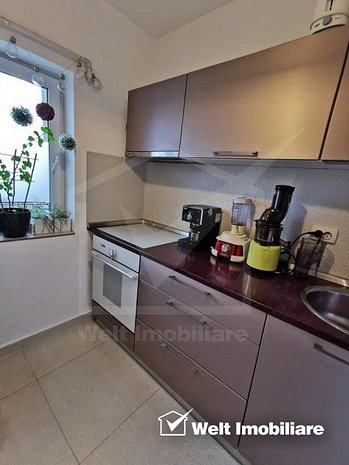 Apartament cu 2 camere de vanzare, centrala proprie, 2 parcari, zona Auchan Iris - imaginea 1
