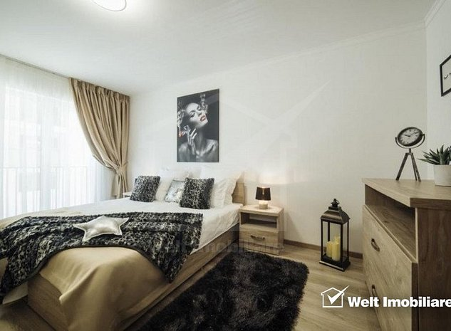 Apartament cu 3 camere, 56mp, zona Europa in ACI Residence, mobilat lux - imaginea 1