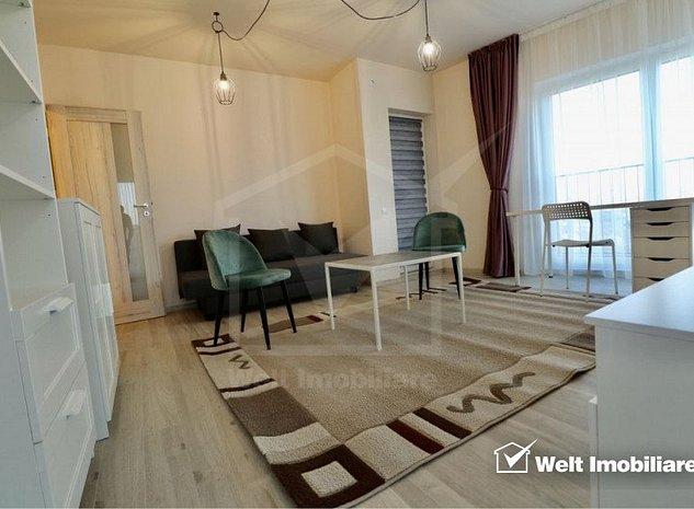 Apartament 3 camere, decomandat, 80mp, Clar Residence Park - imaginea 1