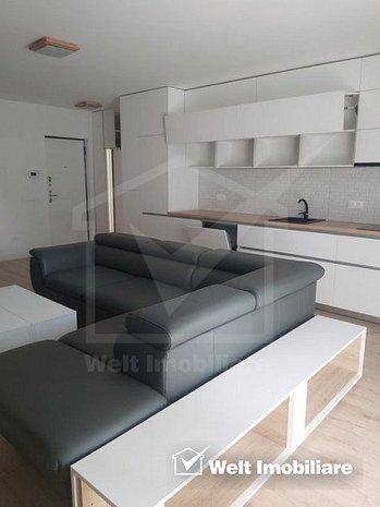 Vanzare apartament 2 camere, 58 mp, ultrafinisat, mobilat lux, parcare, Europa - imaginea 1