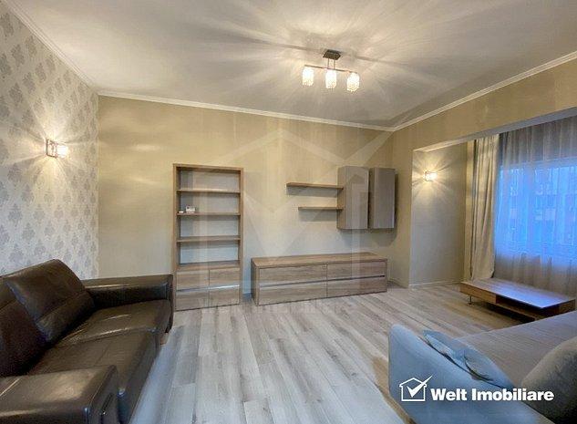 Apartament de inchiriat cu 3 camere, ultracentral, zona Orange, recent renovat - imaginea 1