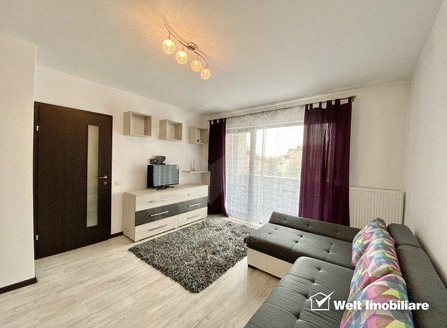 Inchiriere Apartament 1 camera, cartier Marasti, zona Farmec, imobil nou - imaginea 1
