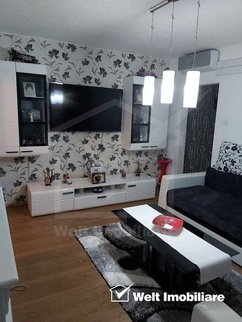 Apartament 3 camere, mobilat, etaj intermediar, zona Big, Manastur - imaginea 1