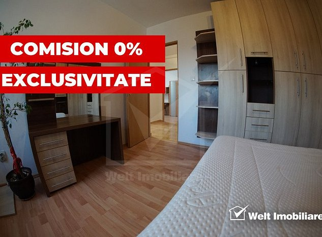 EXCLUSIVITATE! Comision 0%, 3 camere, finisat, mobilat, utilat, Baciu, zona LIDL - imaginea 1