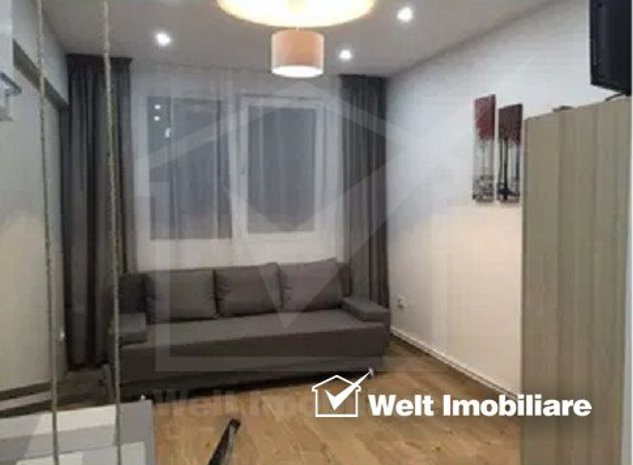 Apartament 1 camera, 18mp, zona Iris, finisat - imaginea 1