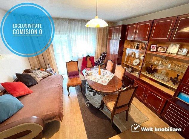 Comision 0, apartament 4 camere, 80 mp, etaj intermediar, Gara - imaginea 1