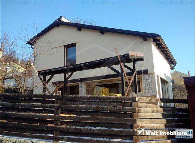 Casa in Grigorescu, ultrafinisata, 212 mp, locatie deosebita, alee privata - imaginea 1