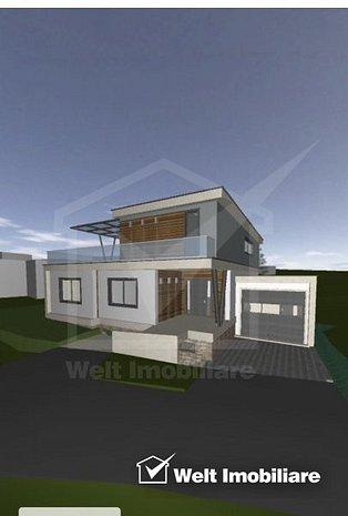 Vanzare casa individuala in Feleacu aproape de Cluj-Napoca - imaginea 1