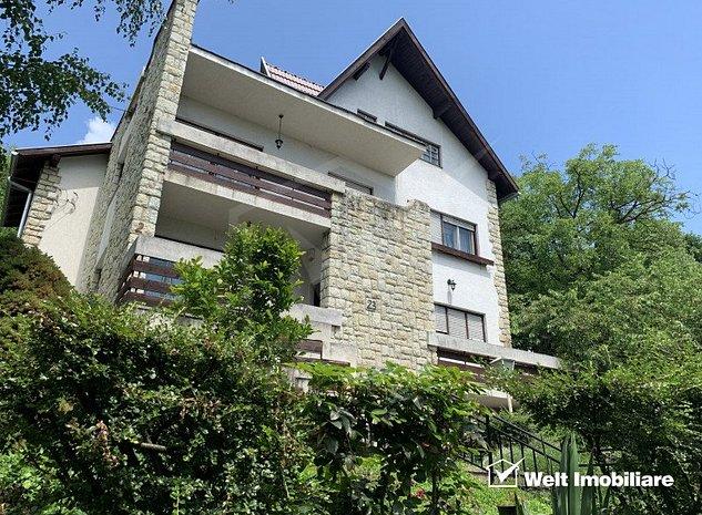 Casa de inchiriat in Grigorescu, zona hotel Napoca, 450 mp, teren 2300 mp - imaginea 1