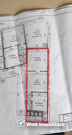 Casa la curte comuna, Centru, posibilitate mansardare - imaginea 1