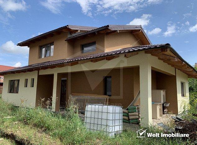 Vanzare casa noua, individuala, Someseni, 135 mp utili, 500 mp teren - imaginea 1