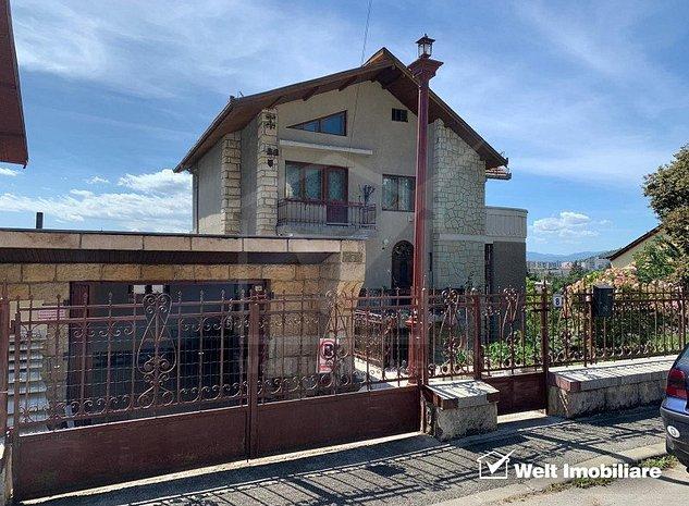 Vanzare casa deosebita, Grigorescu, zona Napoca, teren 800 mp, garaj, panorama - imaginea 1