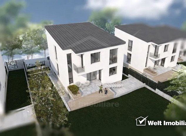 Casa individuala de vanzare in zona Borhanci, 215 mp utili + teren, panorama - imaginea 1