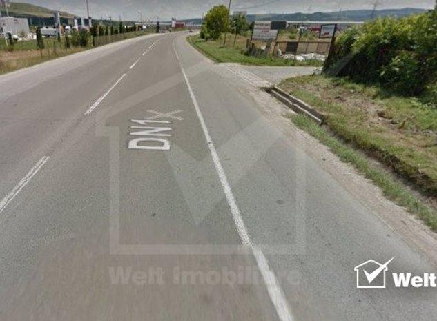 Teren de inchiriat suprafata 1000-8000 mp, langa Autostrada Transilvania - imaginea 1