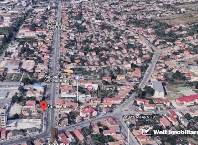 Teren zona Coposu, parcela colt, destinatie imobil mixt - imaginea 1