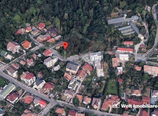 Vanzare teren premium, Zorilor, Gradina Botanica, 1250 mp, front 22 ml - imaginea 1