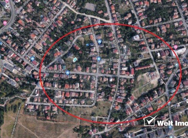 Teren in zona premium, cartier Andrei Muresanu - imaginea 1
