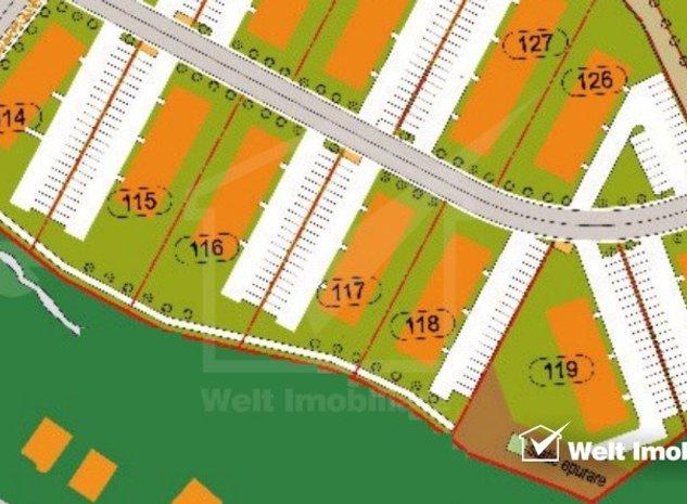 Vanzare parcele teren de bloc, P+3 cu PUD aprobat, POT 30%, CUT 1,2, Iris - imaginea 1