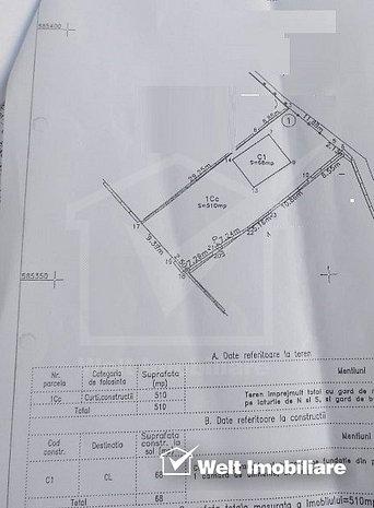 Teren Liu 510 mp, constructie demolabila, Andrei Muresanu, schimb - imaginea 1