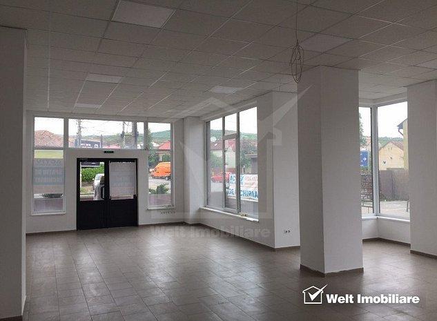 Spatiu comercial 201mp open space, vitrina mare, vad bun, zona Autogara Beta - imaginea 1