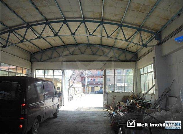 Vanzare hala in Marasti, zona Ira, teren 1600 mp, platforma betonata integral - imaginea 1