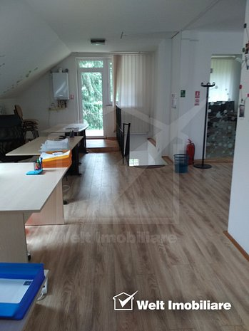 Inchiriere birouri in vila, 135mp open space, zona Pasteur - UMF - imaginea 1