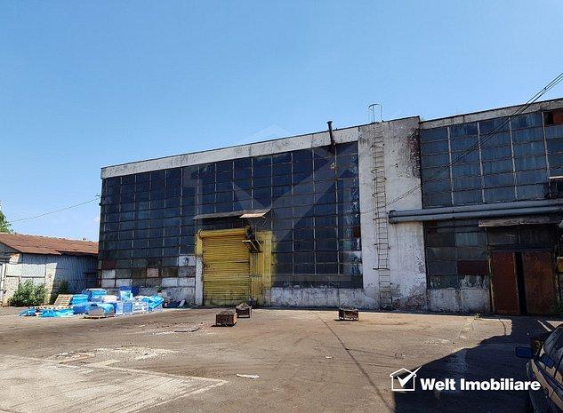 Inchiriere hala depozitare sau productie 865mp, H=8m, zona Dedeman Cluj - imaginea 1