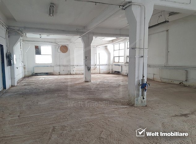 Spatiu depozitare sau productie, parter 162mp, zona Gara Dedeman - imaginea 1