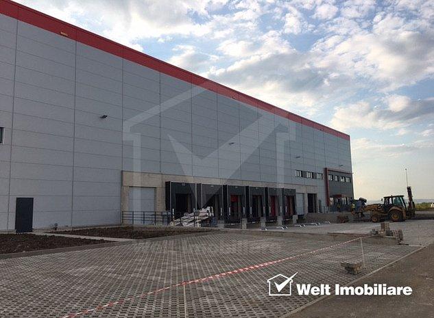 Spatiu logistic 2500mp Clasa A+ parc Industrial Cluj - imaginea 1