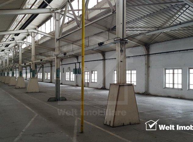 Spatiu productie 1500mp la etaj, lift marfa, H=4m, zona Clujana - imaginea 1