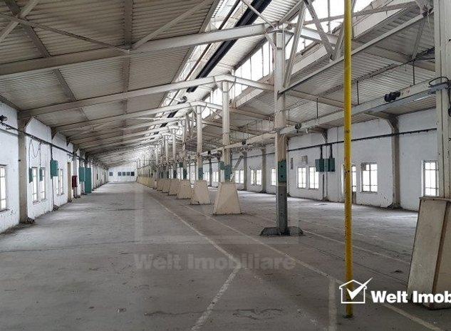Spatiu industrial 500mp la etaj, lift marfa, parcari, Clujana - imaginea 1