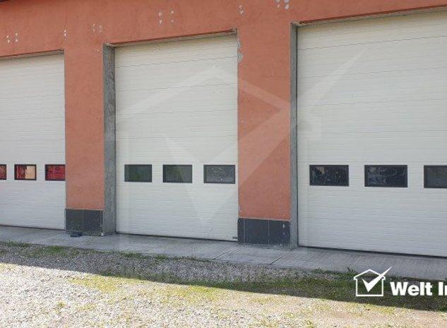 Spatiu industrial - hala + cladire de birouri si curte - imaginea 1