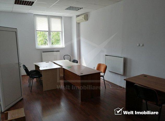 Spatiu birou, compartimentat 52mp zona Piata Cipariu,servicii administrare - imaginea 1