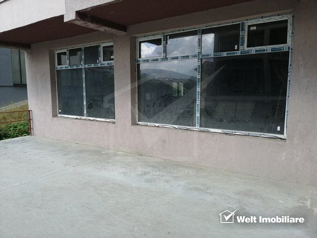 Spatiu comercial de vanzare, semifinisat, 138 mp, vitrina parter zona Borhanci. - imaginea 1